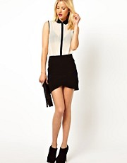 ASOS Bandage Mini Skirt with Wrap