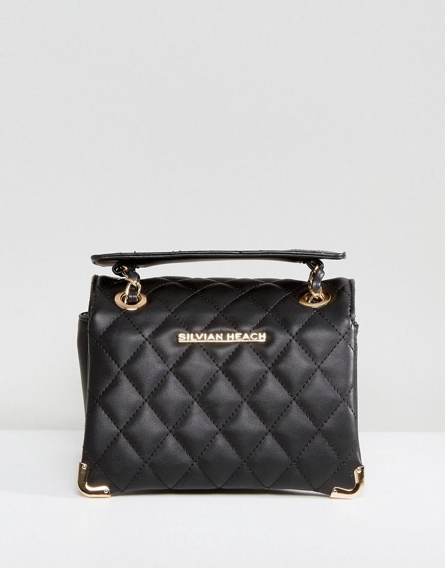 Стеганая сумка на плечо Silvian Heach - Черный