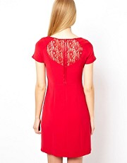 Coast Orchid Dress with Lace Back
