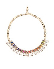 Flash Trash Girl Rainbow Necklace