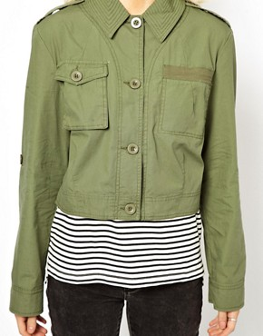 Image 3 ofASOS Cropped Utility Jacket