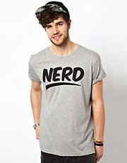 ASOS T-Shirt With Nerd Print