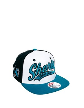 Image 2 ofZephyr Sharks Swoop 3 Tone Snapback Cap