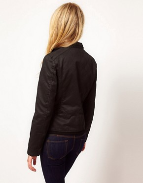 Image 2 ofBarneys Originals Waxed Jacket