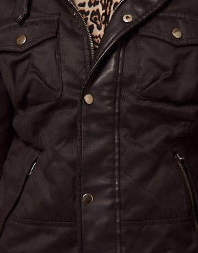 Image 3 ofBarneys Originals Waxed Jacket