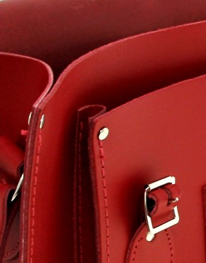 Image 2 of The Cambridge Satchel Company Leather Satchel 15""