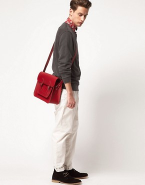 Image 3 of The Cambridge Satchel Company Leather Satchel 15""