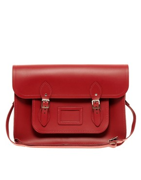 Image 1 of The Cambridge Satchel Company Leather Satchel 15""