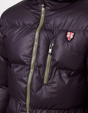 Image 3 ofPuffa Jacket with Hood