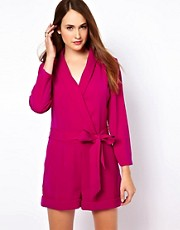 Ted Baker Tailored Playsuit with Wrap Front
