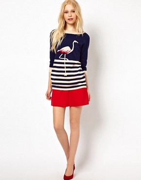 Image 4 ofSugarhill Boutique Flamingo Jumper