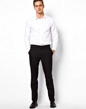 Image 4 ofASOS Smart Shirt With Double Cuff