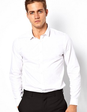 Image 1 ofASOS Smart Shirt With Double Cuff