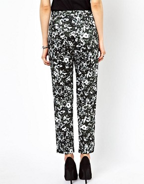 Image 2 ofJust Female Flower Printed Trousers