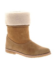 D.Co Copenhagen Sheepskin Ankle Boot