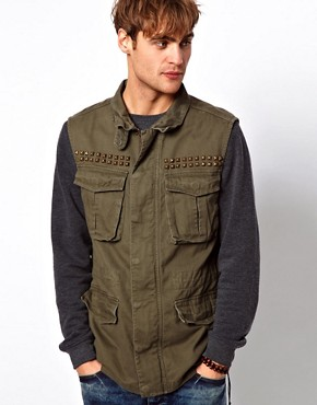 Image 1 of River Island Fielder Gilet
