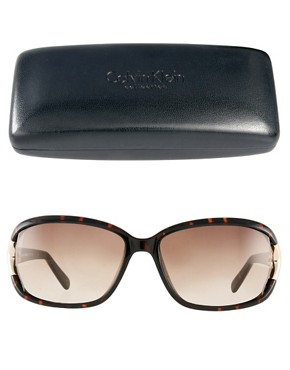 Image 2 ofCalvin Klein Gradient Sunglasses
