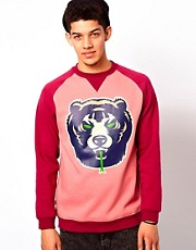 Mishka Crew Sweatshirt Death Adders Raglan