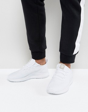 adidas Originals Tubular Shadow Trainers In White CG4563