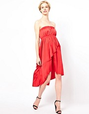 Kore by Sophia Kokosalaki Strapless Tiered Dress