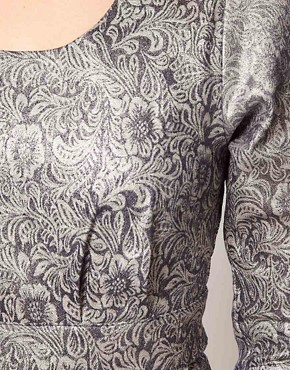 Image 3 ofLowie Metallic Paisley Shift Dress