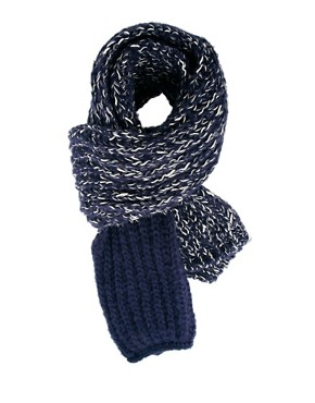 Image 1 ofASOS Scarf with Contrast End