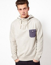 ASOS Hoodie With Contrast Pocket