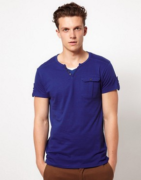 Image 1 ofD Struct V-Neck T-Shirt