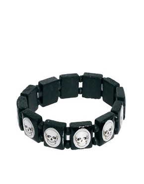Image 1 ofASOS Skull Bracelet