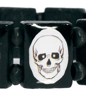 Image 3 ofASOS Skull Bracelet