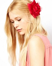 Johnny Loves Rosie Floral Corsage Hair Clip