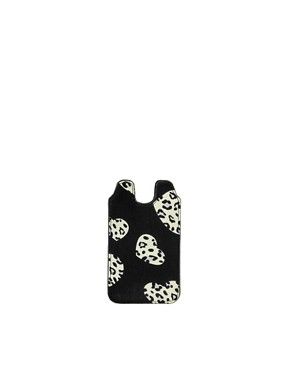 Image 1 ofASOS Heart Print iPhone Case