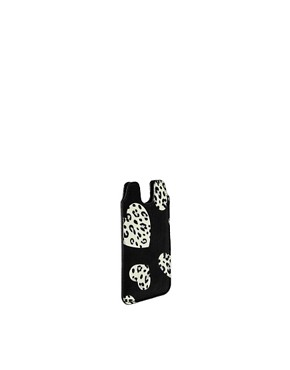 Image 2 ofASOS Heart Print iPhone Case