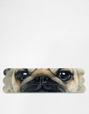 Catseye Pug Nail Files x 6