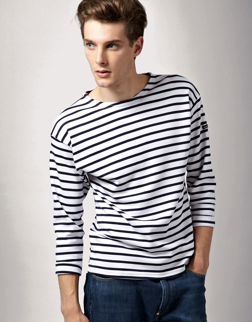 armor lux armor lux long sleeve breton t shirt at asos. Black Bedroom Furniture Sets. Home Design Ideas