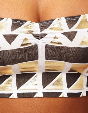 Image 3 ofASOS Bandeau With Midas Print