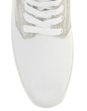 Image 2 ofASOS Contrast Hi-Top Trainers