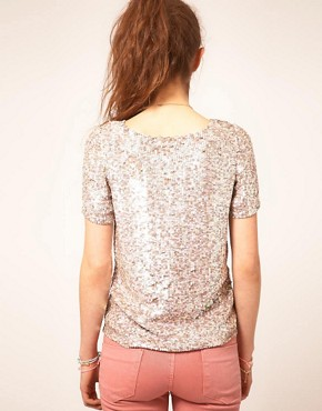 Image 2 ofA Wear Sequin T-Shirt