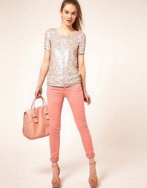 Image 4 ofA Wear Sequin T-Shirt