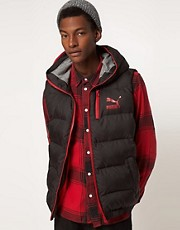 Puma Down Hooded Gilet