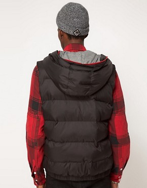 Image 2 ofPuma Down Hooded Gilet