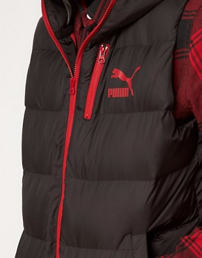 Image 3 ofPuma Down Hooded Gilet