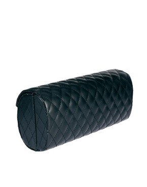 Image 2 of River Island Black Quilted Sunglasses Case