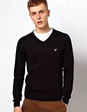 Lyle &amp; Scott Vintage Jumper with V Neck