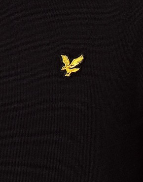 Image 3 ofLyle &amp; Scott Vintage Jumper with V Neck