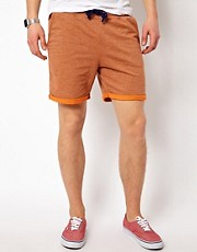 Solid Jesery Shorts