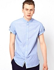 Fred Perry Shirt with Rolled Sleeves