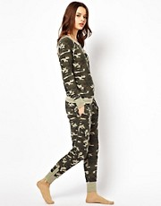 Pantalones de chndal de camuflaje de River Island