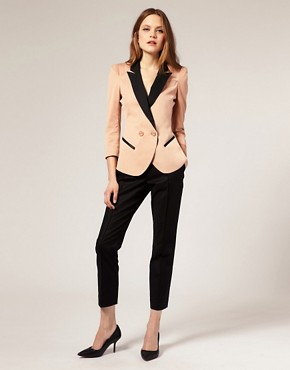 Image 4 ofASOS Blazer With Contrast Lapels