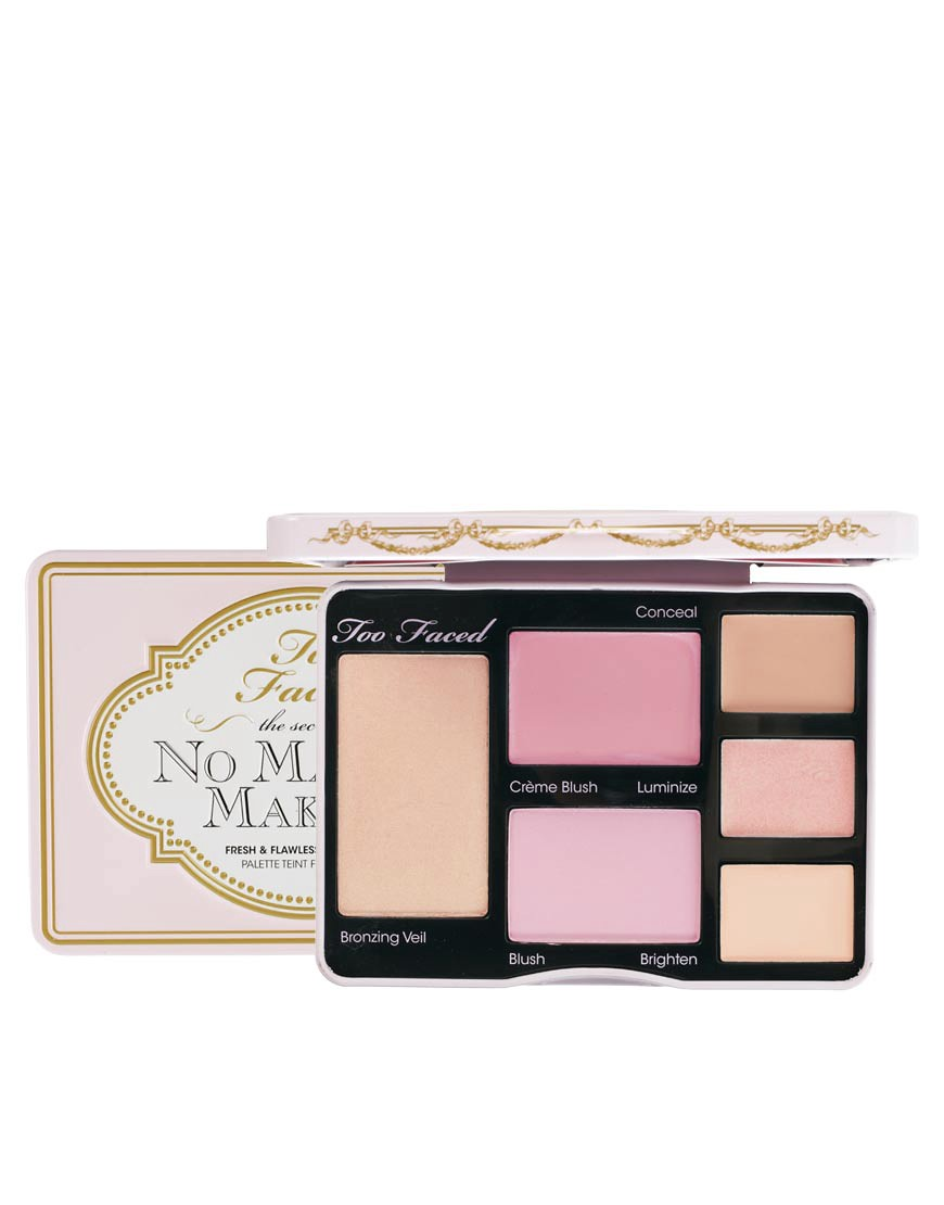 Too Faced No Make Up Make Up Palette de maquillage